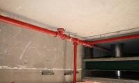Impianto antincendio interno
